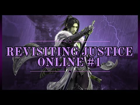 JUSTICE ONLINE逆水寒 角色 🈵 Revisiting This Wuxia-Based MMORPG Released In China #1 [English]