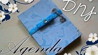 Tutorial Scrapbooking: Come decorare un'Agenda   ✂   DIY Vintage Scrap Diary-Notebook ✂