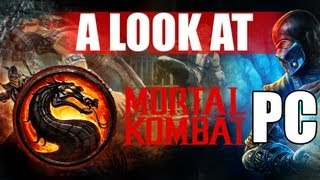 Mortal Kombat Komplete Edition PC Story Mode & Gameplay Max Graphics 1st Impressions Review 1080P