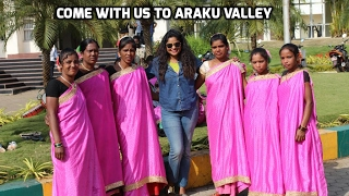 Travel Vlog: Come with us to ARAKU VALLEY(South India) || Snigdha Reddy