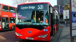 BYD Battery Electric Buses in London