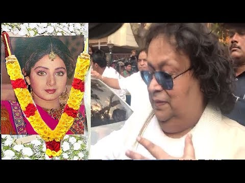 Emotional Bappi Lahiri Breaks Down Publicly Talking About Sridevi PASSING AWAY