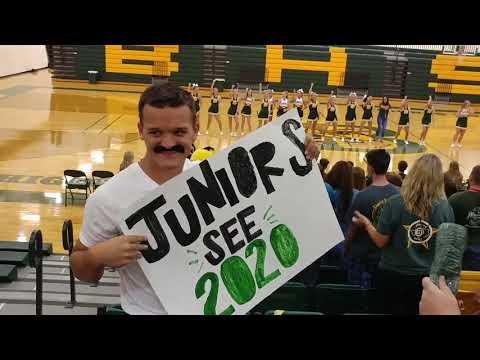 Boyd high school first pep rally 2018-2019 season
