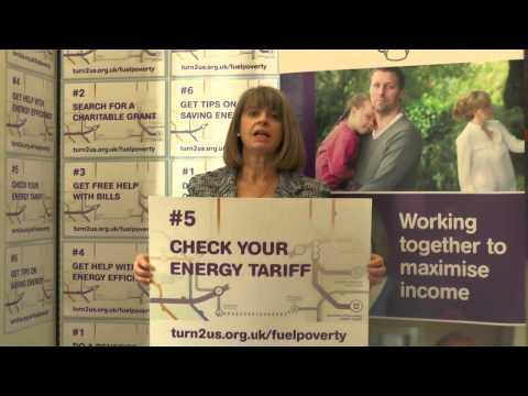 Harriett Baldwin, MP supports Turn2us Fuel Poverty campaign