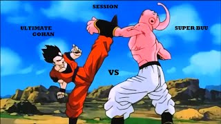 DBZ AMV - Ultimate Gohan vs Super Buu (Session)
