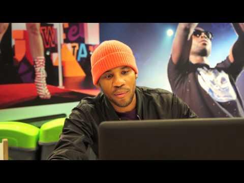 Calvin Harris chats to Reggie on Radio 1