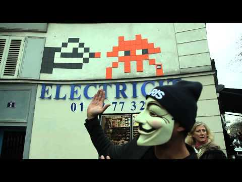 Le French May 2015 - Space Invader  exhibition