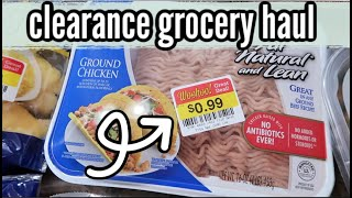 CLEARANCE GROCERY HAUL | FEEDING A LARGE FAMILY ON A BUDGET | MAY 2020