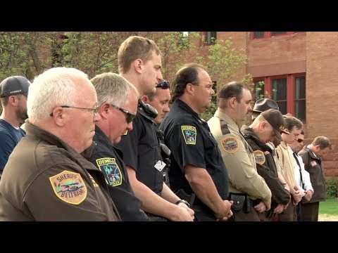 Members Of Law Enforcement Gather To Remember Those Who Served