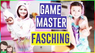 AVA VERKLEIDET SICH ALS GAME MASTER für FASCHING!! GAME MASTER RASTET AUS 😡😱 Alles Ava