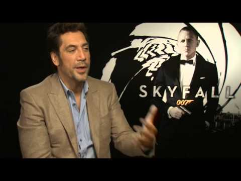 Skyfall: Javier Bardem talks being a Bond baddie and not looking hot