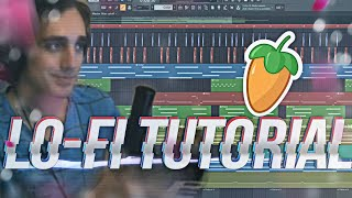A Russian Guy Makes Lo-Fi Hip-Hop beat in Fl Studio 20