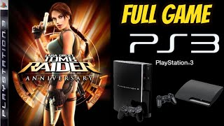 Tomb Raider Trilogy HD Remastered: ANNIVERSARY 100% PS3 Walkthrough ALL SECRETS NO COMMENTARY