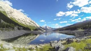 Medicine Lake, Jasper - rotating timelapse