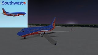 FLIGHT ATTENDANT | Southwest Airlines - B737 | ROBLOX