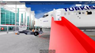 Turkish Airlines - Bodenpersonal - Boeing 737-800 - ROBLOX