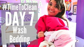 DAY 7 CLEANING SCHEDULE // #TIMETOCLEAN CHALLENGE // SPEED CLEANING ROUTINE