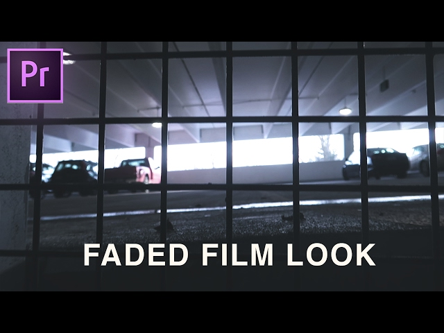 The Secret on How to Get that Faded Film Look in Adobe Premiere Pro (Lumetri Color Grading Tutorial)
