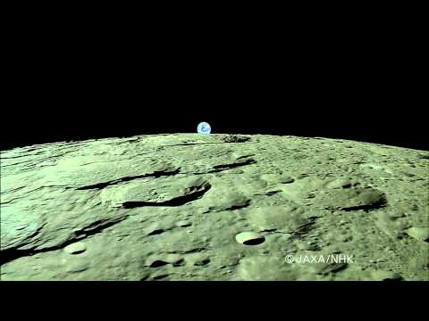 World's First HDTV Image Of 'Earth-Rise' Over Moon