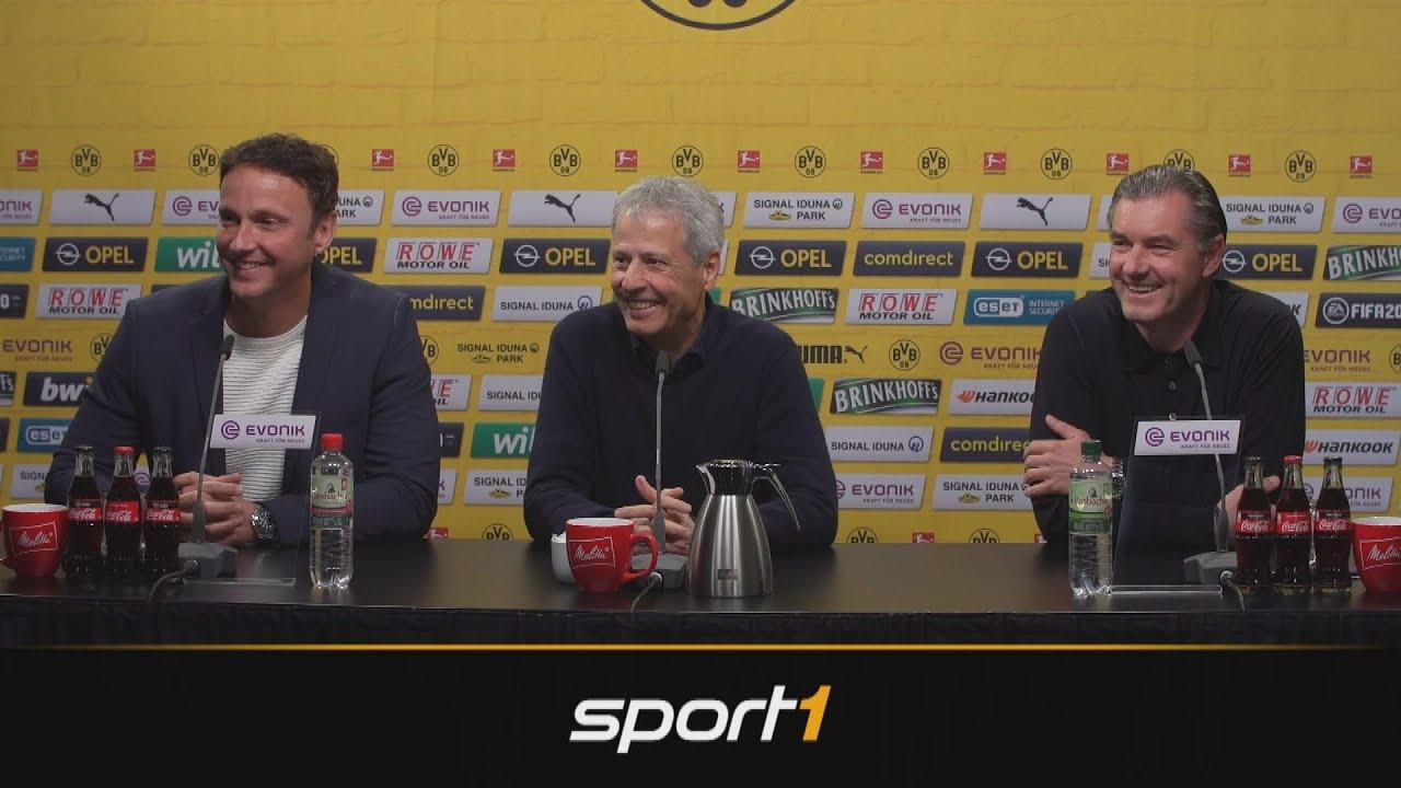 Dortmunder witzeln über Haalands Nachnamen | SPORT1