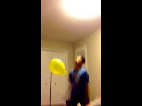 Balloon goes boom