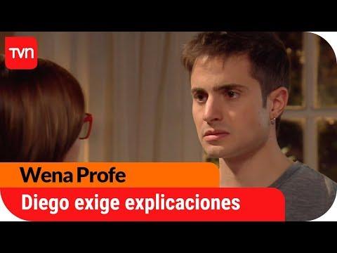 Diego le exige explicaciones a su mamá | Wena Profe - T1E17