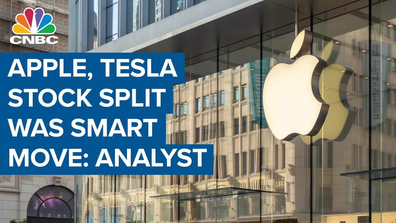 When it comes to Apple and Tesla stock splits, investors should ...