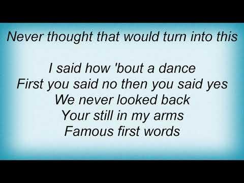 Gil Grand - Famous First Words Lyrics