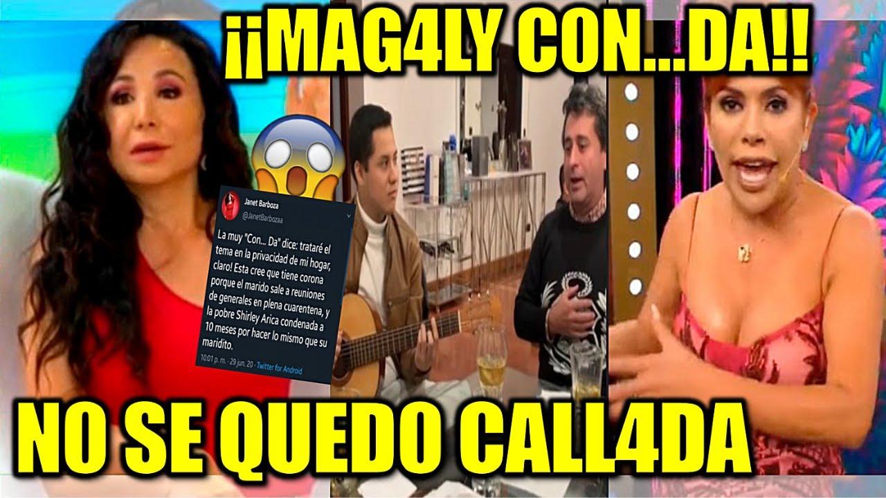 ¡RESP0NDlO ALT0QUE! 😱😱 Magaly H4BLA DE LA SALlDA D3 SU ESP0S0 y Janet Barboza L4 LL4MA C0NCHUDA 😱😱