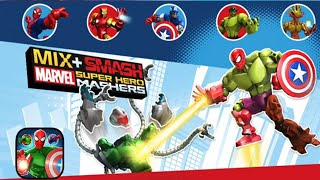 Marvel Super Hero Mashers: Mix + Smash - Disney Games