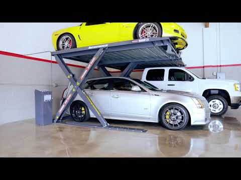 See New Autostacker Parking Lift In Action