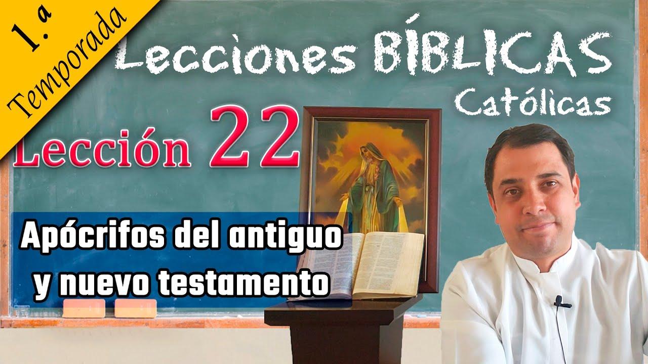 ✅ Apócrifos del antiguo y nuevo testamento - 📚 Lecciones Bíblicas - Padre Arturo Cornejo ✔️