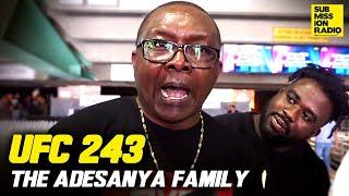 "UFC 243 Israel Adesanya's Dad: ""Robert Whittaker Is One-Dimensional"""