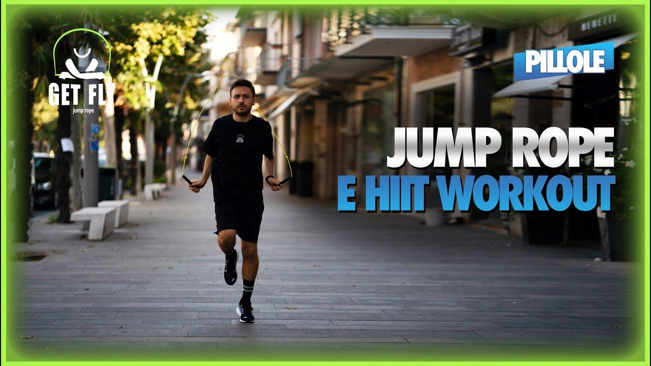 Come fare un HIIT Workout con la corda | #JumpRopeWorkout