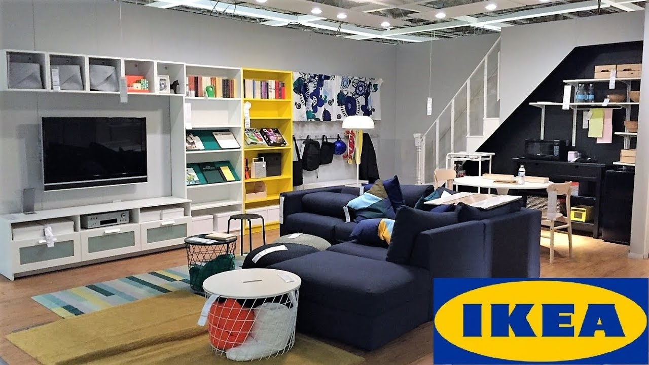 Ikea Living Room Ideas Furniture Home Decor Shop With Me Shopping Store Walk Through 4k Youtube
