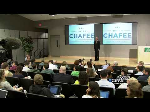 Lincoln Chafee Presidential Campaign Announcement Full Speech (C-SPAN)