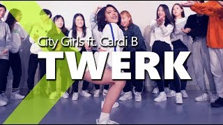 City Girls - Twerk ft. Cardi B / HAZEL Choreography.