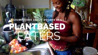 🍉🥦👩🏿🌾👩🏿🍳assumptions about vegans -