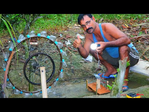 Water wheels electricity