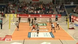 Dresdens Volleyballerinnen im Finale