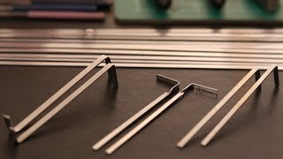 How to Make Tension Wrenches for Lockpicking