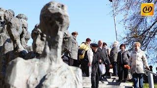 Траурный митинг в мемориальном комплексе «Яма»