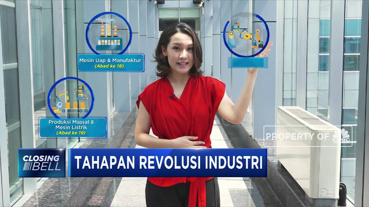 Apa Itu Revolusi Industri 4 0 Youtube