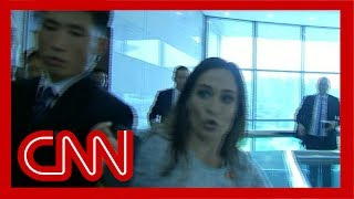 Stephanie Grisham injured by North Korean officials