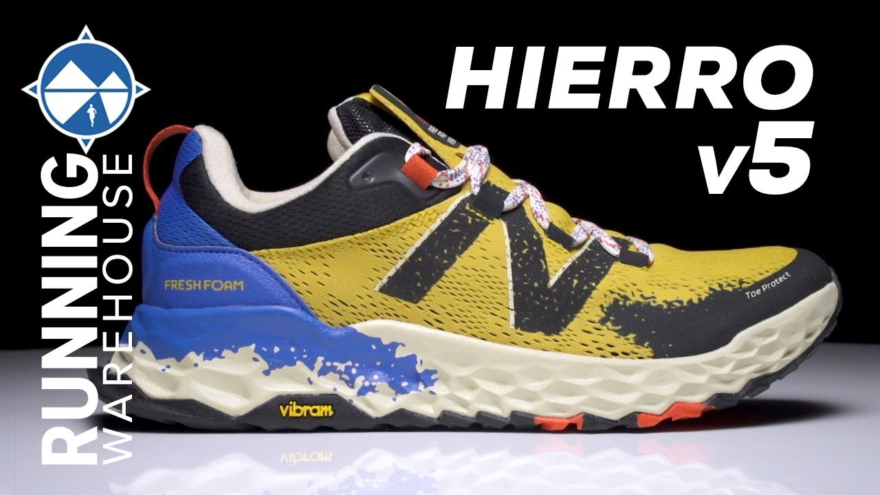 nueva alta calidad descuento hasta 60% Venta caliente 2019 New Balance Fresh Foam Hierro v5 First Look | A Beast on the Trail ...