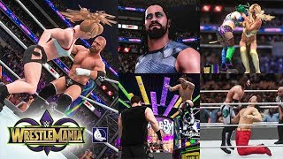 WWE 2K18 - Wrestlemania 34 Show Highlights (Top...