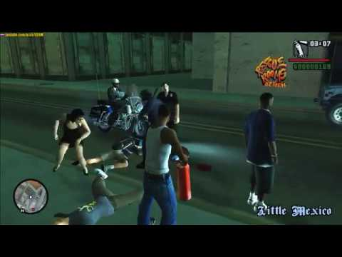 GTA San Andreas - Police against the Opposition