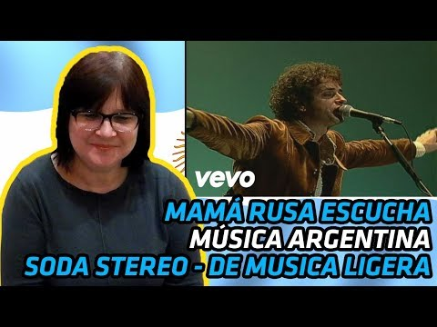RUSSIANS REACT TO ARGENTINIAN MUSIC | Soda Stereo - De Musica Ligera | REACTION