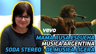 RUSSIANS REACT TO ARGENTINIAN MUSIC | Soda Stereo - De Musica Ligera | REACTION thumbnail