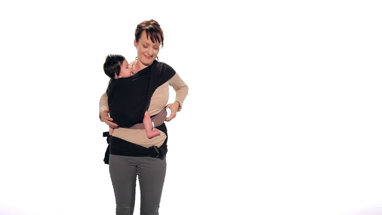 Instructions Ergobaby Wrap Hip Carry Tie 6 14 Kg Youtube